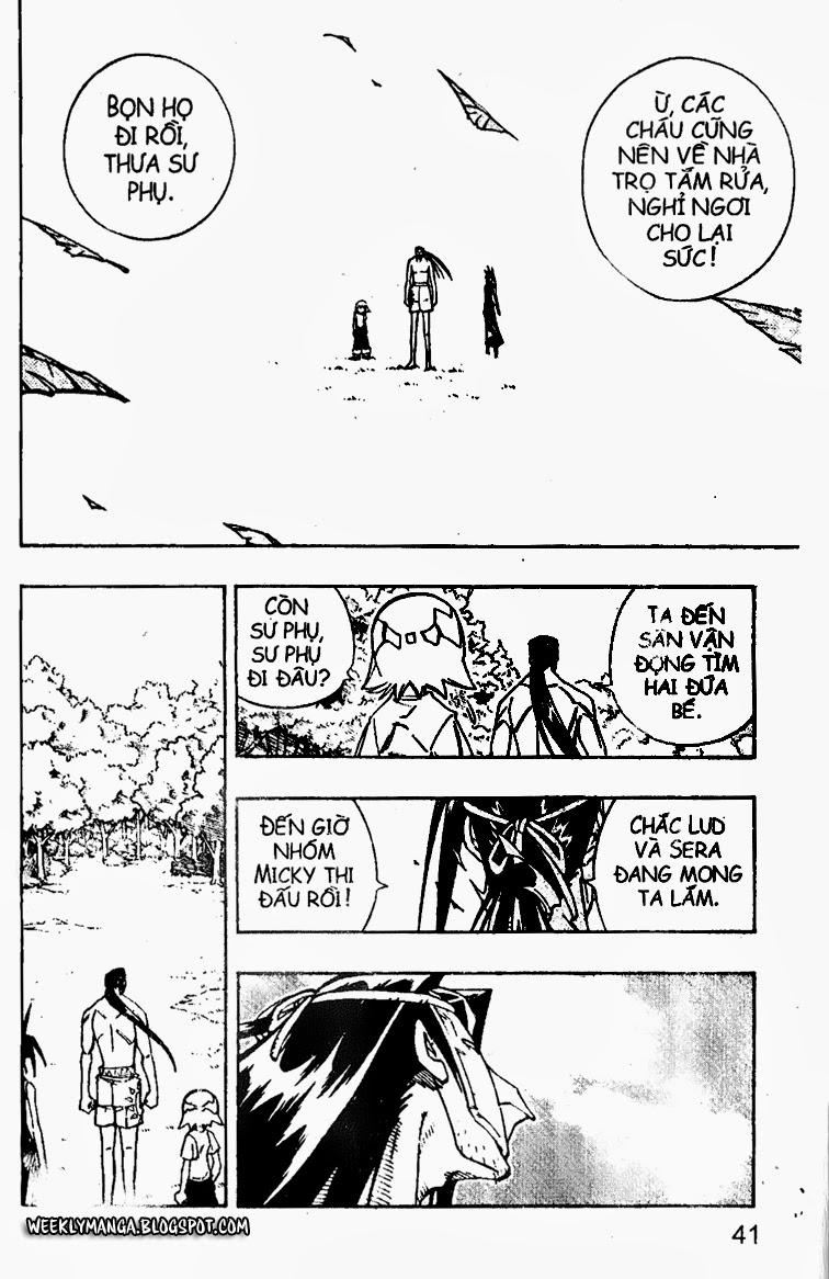 Shaman King [Vua pháp thuật] chap 161 trang 21