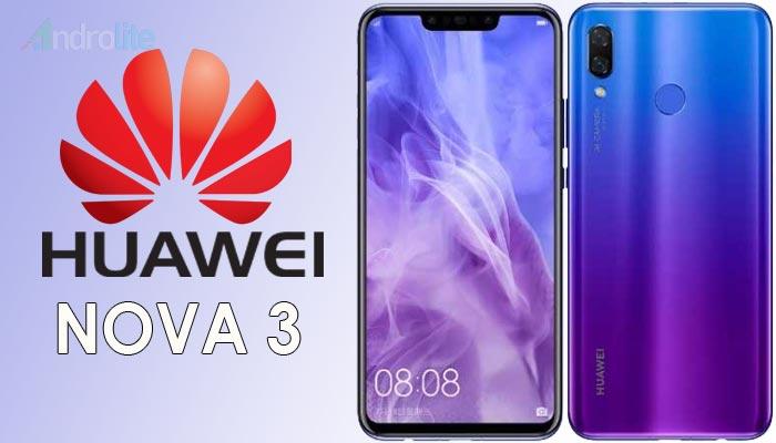 Vendor smartphone Huawei memang tidak sepopuler Samsung Harga Huawei Nova 3 - Usung 4 Kamera, RAM 6GB, Layar 6,3 inci