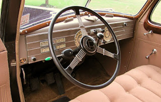 1937 Cadillac Fleetwood Brougham Steering Wheel