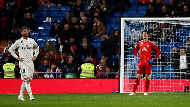 Tampil Sangat Terpuruk Para Penonton Laga Kandang Real Madrid Terus Jeblok 2019