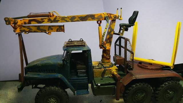 Ural 4320 Timber. 20170317_064903