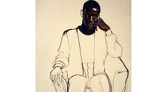 James Hunter Black Draftee   Alice Neel