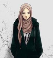 Gambar kartun cewek muslimah