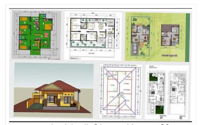 desain rancang bangunan rumah minimalis