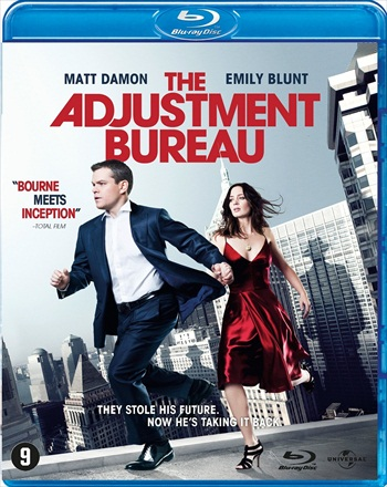 The Adjustment Bureau 2011 Dual Audio ORG Hindi 480p BRRip 300mb