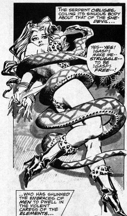 Rampaging Hulk #9, Shanna the She-Devil