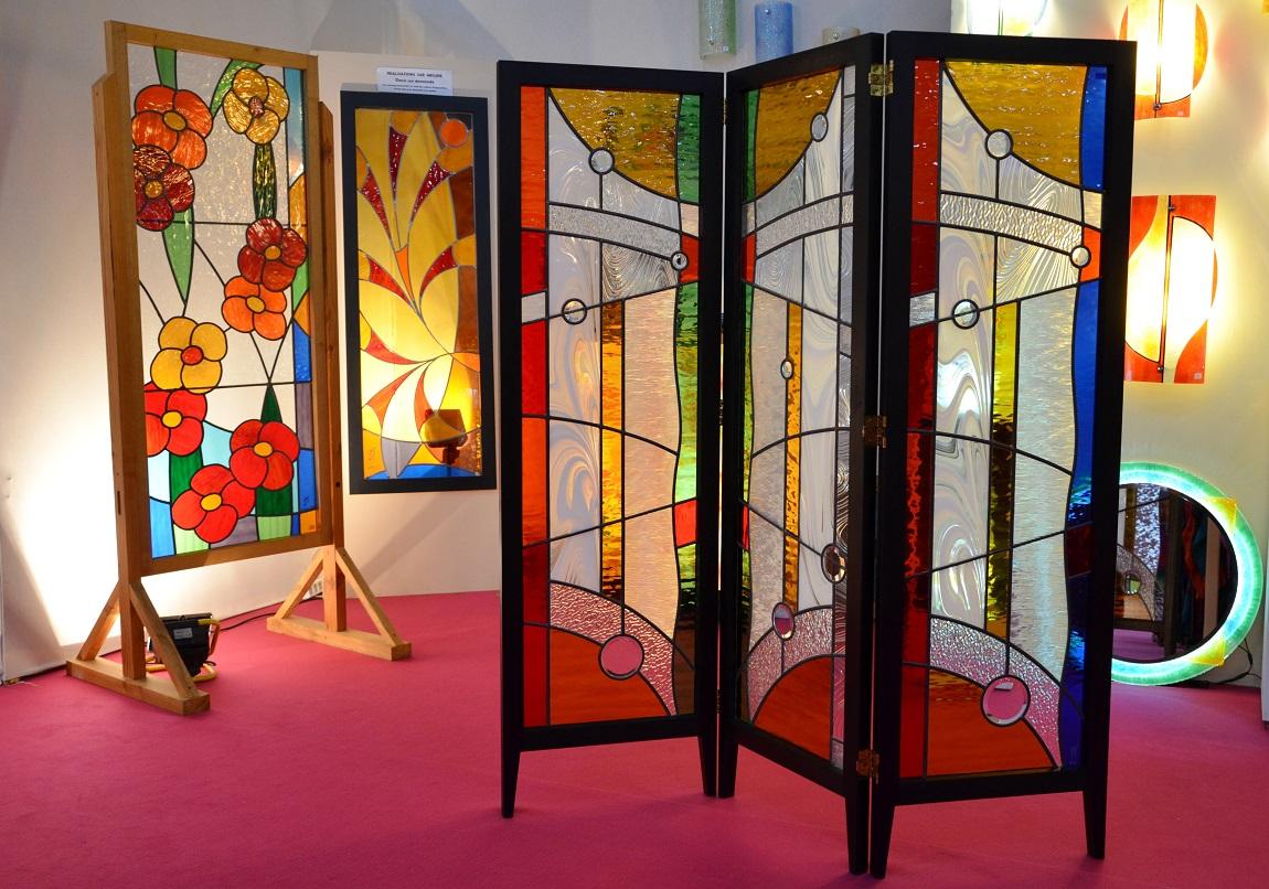Souvent Atelier Verrier de Clermont : Vitrail,verre fusionné,stages  DT86