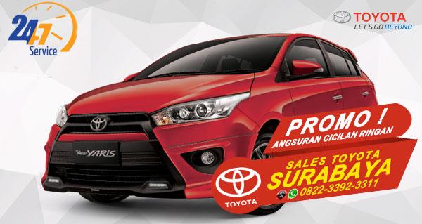 Promo Angsuran Cicilan Ringan Toyota Yaris Surabaya