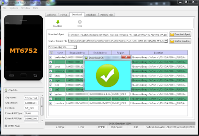Cara Flashing smartphone Vivo Y11T Via SP Flashtool