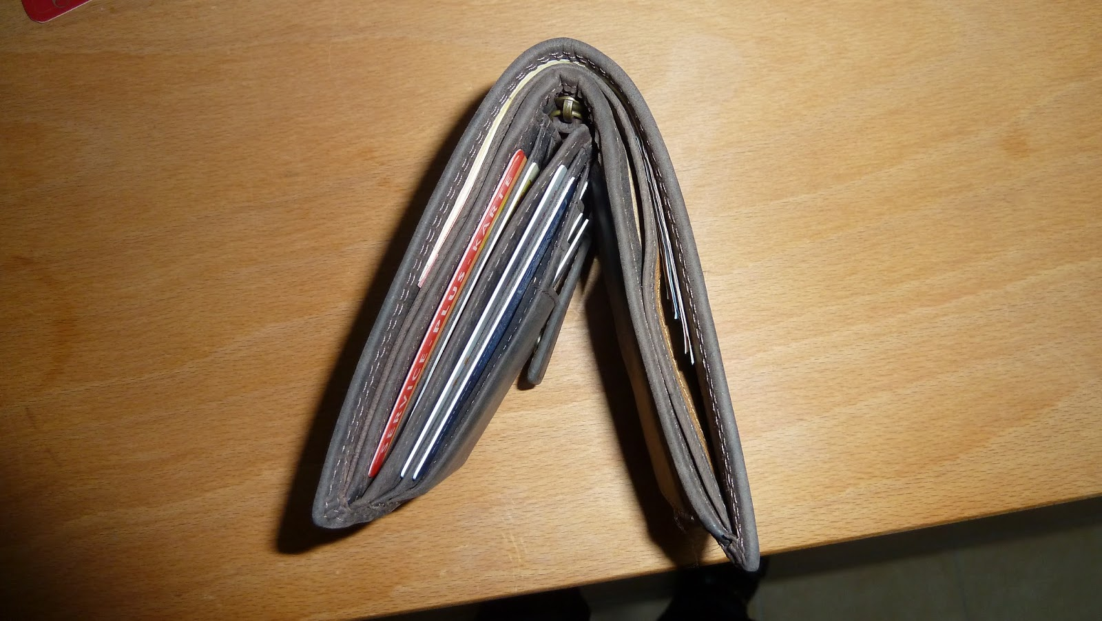 Produkttest Echt-Leder Portemonnaie Hodalump