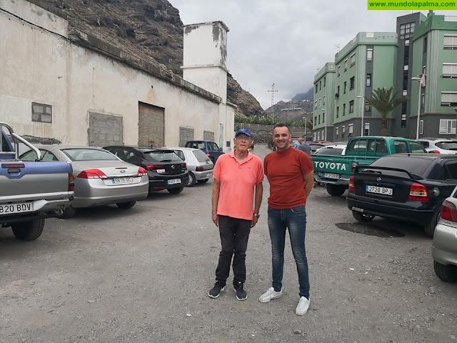 Tazacorte mejora las calles de acceso desde el Puerto Viejo a las Urbanizaciones del Carmen y Taburiente