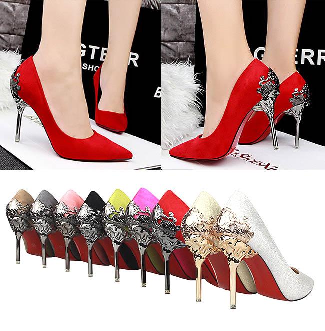 High heels cantik dengan beraneka warna pilihan
