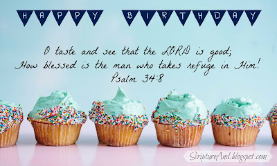 Image result for kjv bible verse birthday