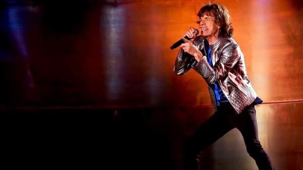 Mick Jagger, durante un concierto en Lisboa en 2014