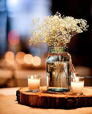 Centros mesa boda