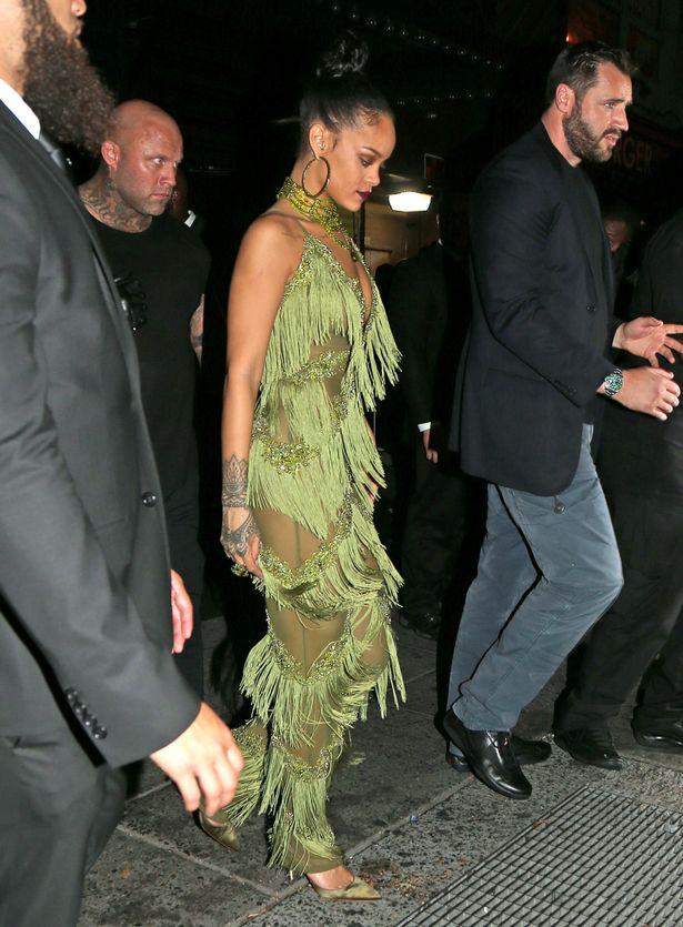 Photos of Rihanna and Drake Dancing at Her VMAs After-party