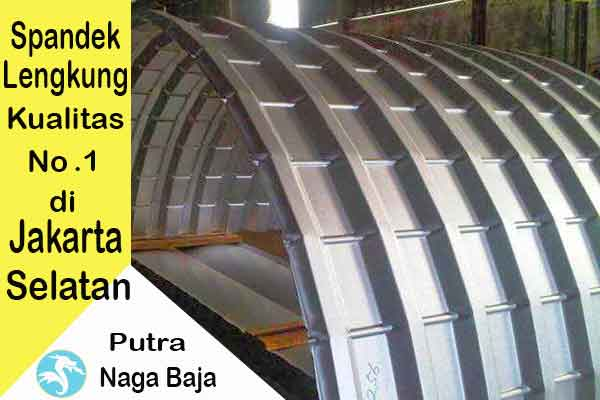 Harga Atap Spandek Lengkung Jakarta Selatan Per Meter dan Per Lembar