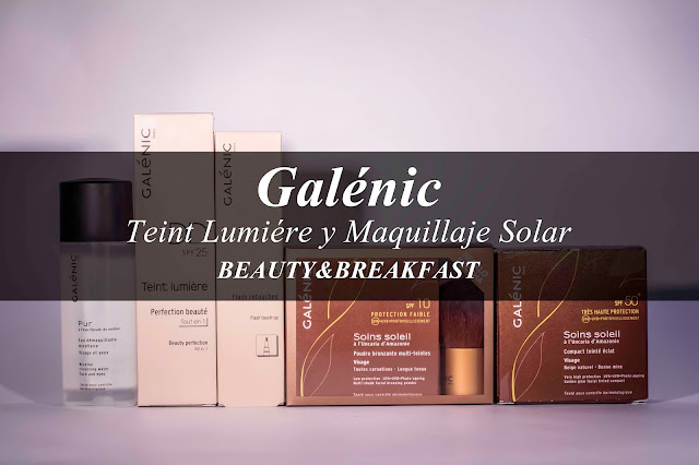 Galenic: Maquillaje Solar y gama Teint Lumiére
