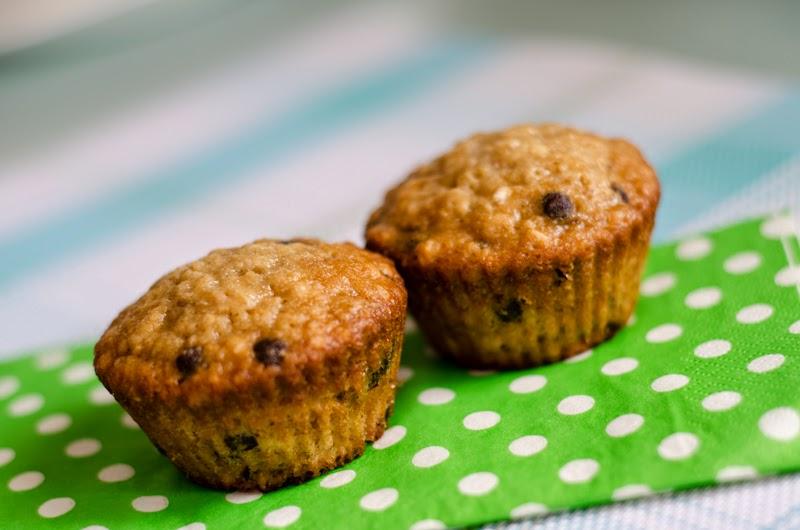 Muffins Au Gruau Et Pepites De Chocolat Doumdoum Se Regale
