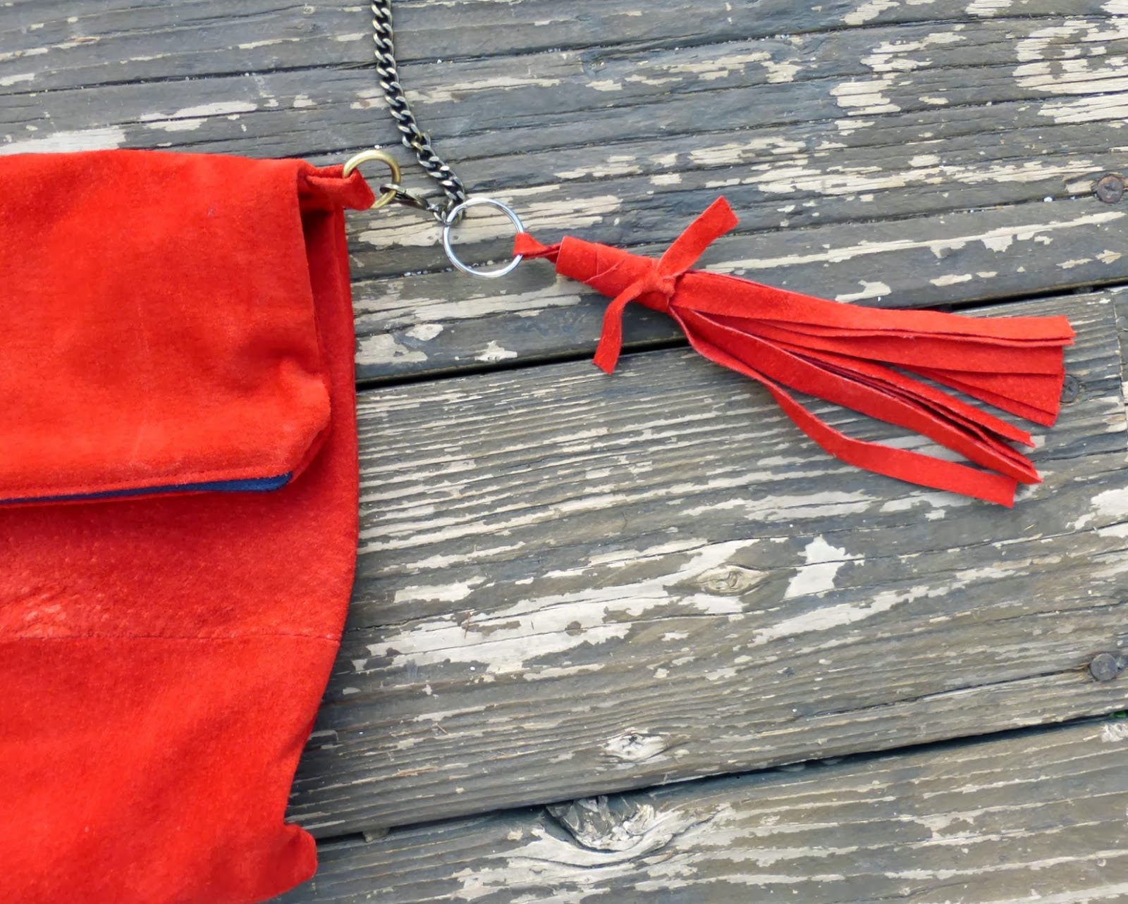 diy how to make a leather tassel tutorial