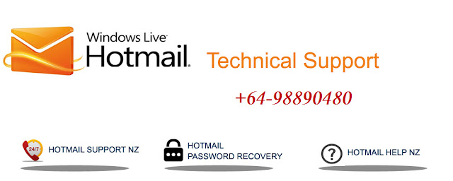 Hotmail Help Phone Number NZ +64-98890480