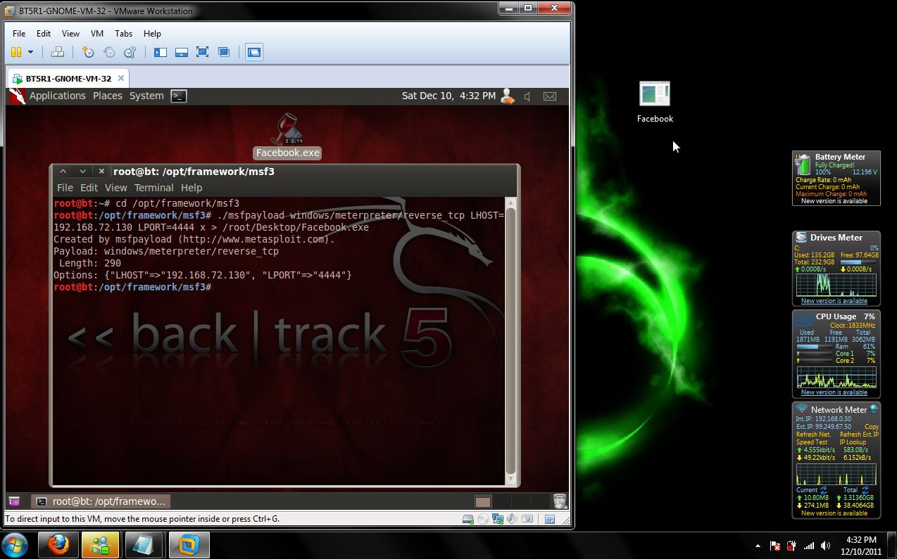Hacking: Exploits and Vulnerabilities: Exploiting Windows 7 with