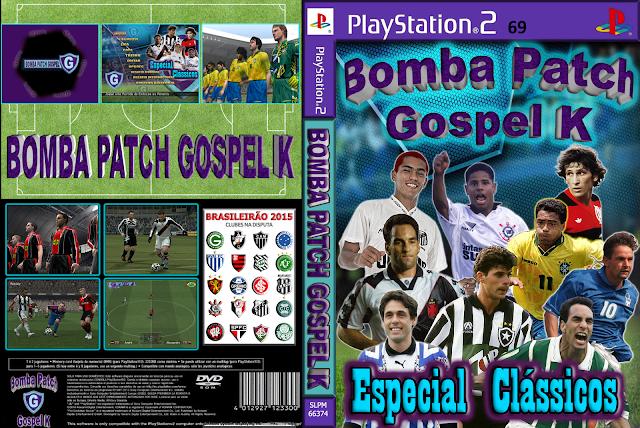 Bomba Patch Gospel K - Especial Clássicos - PS2