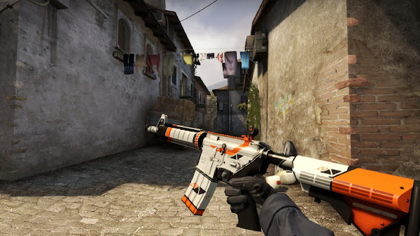 counter strike m4a4 asiimov peru