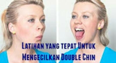 Latihan Mengecilkan Double Chin