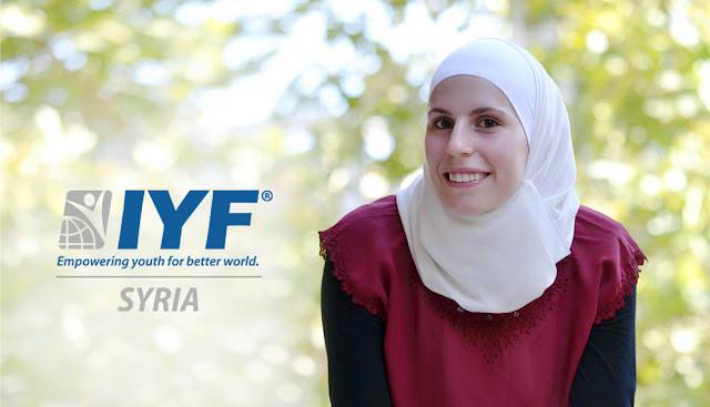 Yamanah Zaidan, IYF Representative in Syria