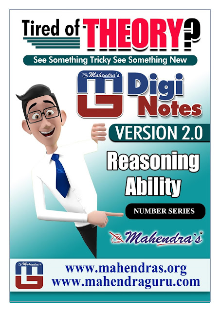 Digi Notes - 2.0   IBPS Clerk Mains Special : Number Series   17.01.2018