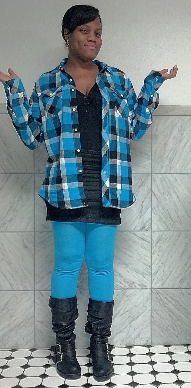 e62533f19e24 Fashiony Whatnots and Cute Stuff  8 ways to wear a flannel shirt ...