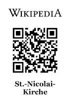 Dieser QR-Code führt zum Wikipedia-Artikel der St.-Nicolai-Kirche Eckernförde