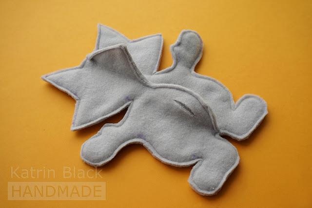 Como a costurar um guaxinim com suas próprias mãos?