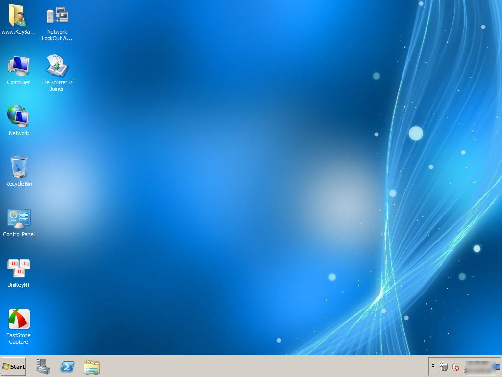 Ghost Windows Server 2008 R2 SP1 Standard 64 Bit No Soft mới nhất .
