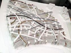 建築は模型も面白い。想像力溢れるクリエイティブな模型。9つ【Architecture】 図書×住宅 大西麻貴