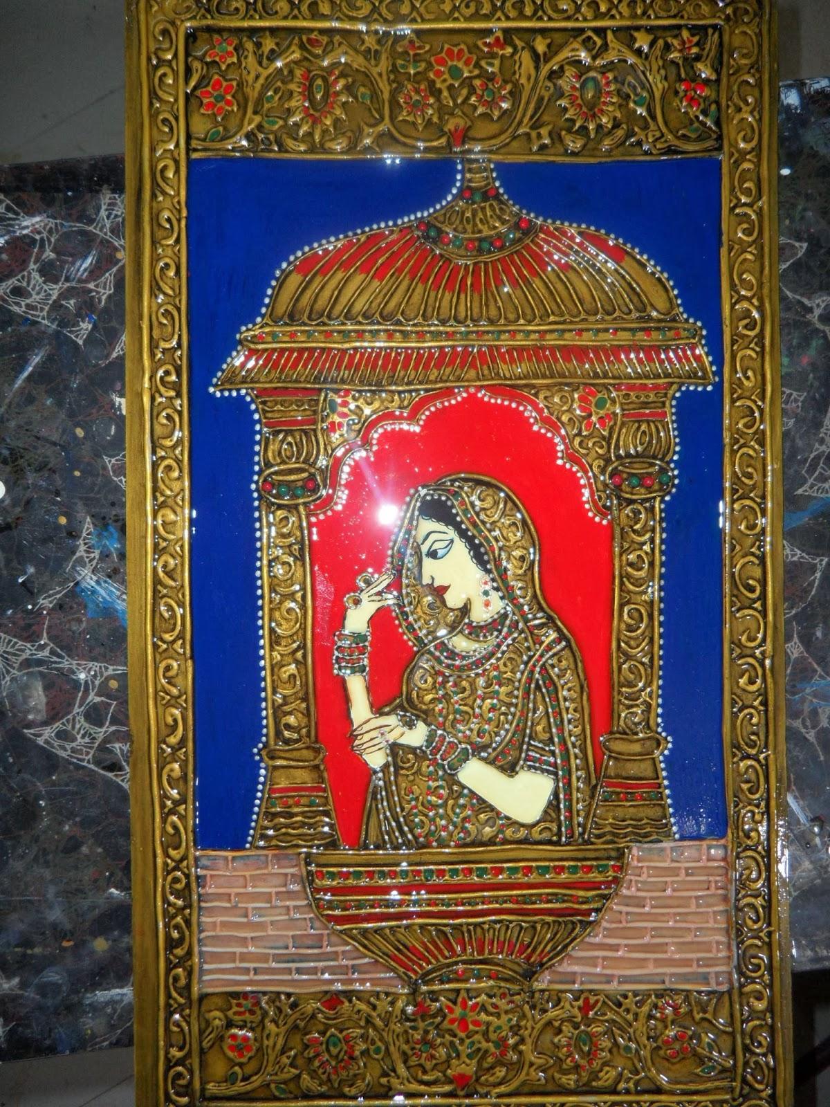 Lady Craft Mughal Art