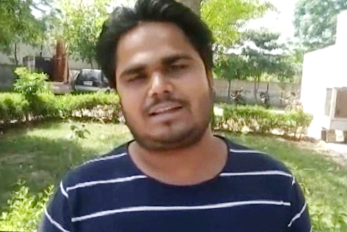 Once again, Faridabad police showed indecent behaviors, given the lustful - abusive abuses