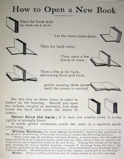 Cómo abrir un libro nuevo