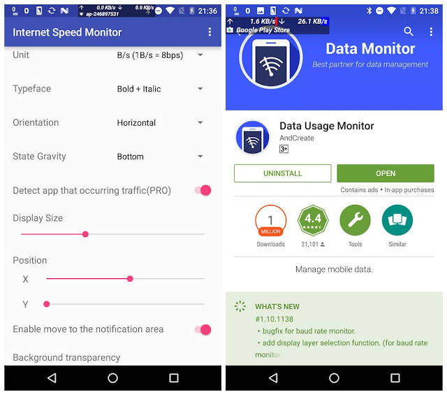 Internet speed monitor cracked apk