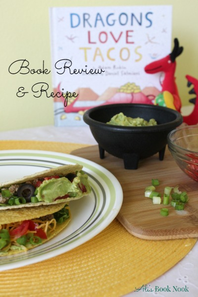 Book review of Dragons Love Tacos and Homemade Taco Seasoning Recipe