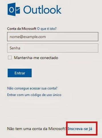 como criar email hotmail - photo #18
