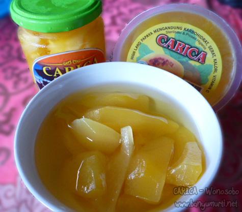 Kuliner Wonosobo Carica Dan Kripik Jamur Oleh Oleh Dari Wonosobo