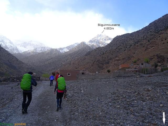 Camino del Refugio del Toubkal