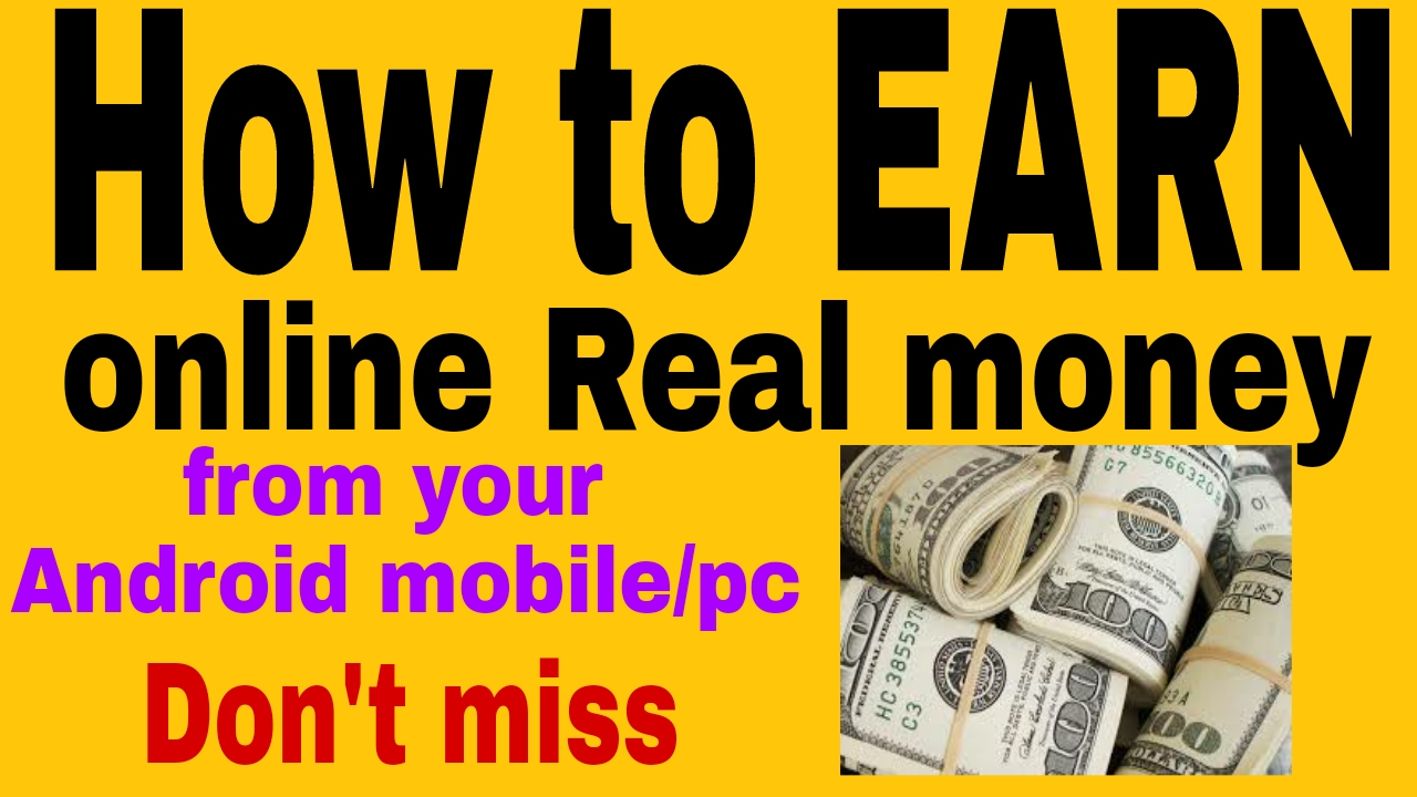 Make money online on your phone