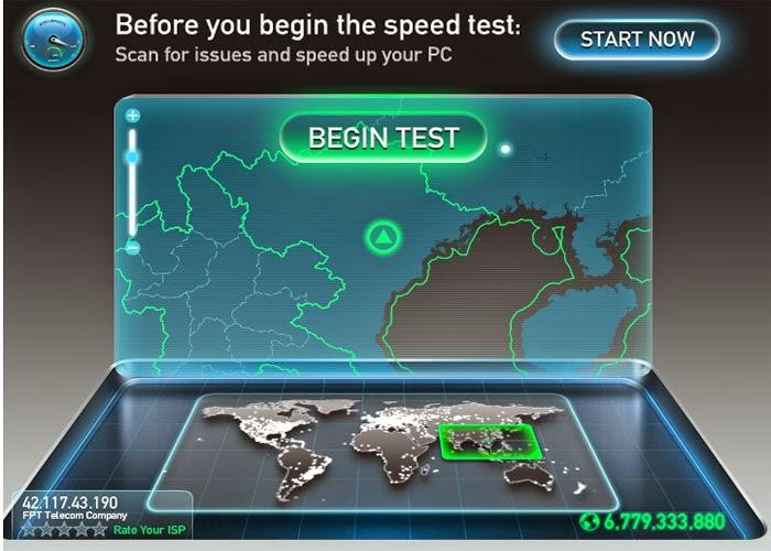 Công Cụ Kiểm Tra Tốc Độ Internet Tốt Nhất 1
