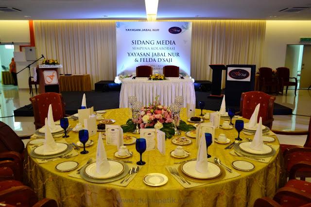 Sidang media sempena kolaborasi Yayasan Jabal Nur & Felda D'Saji