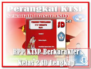 Download RPP dan Silabus KTSP 2006 Kelas 3 SD