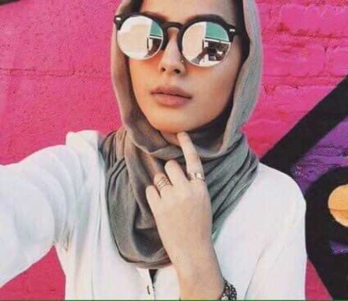 hijab with glasses 2018