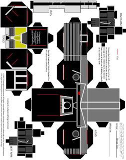 Descargar el cubeecraft del Cylon U87 de la serie Battlestar Galactica